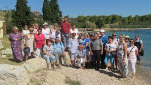 Tropienie Korzeni po Greckiej Ziemi uczestnicy pielgrzymki